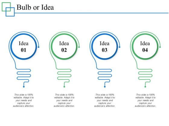 Bulb Or Idea Technology Ppt PowerPoint Presentation Professional Graphics Download