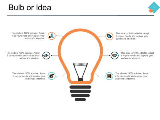 Bulb Or Idea Technology Process Ppt PowerPoint Presentation Portfolio Show