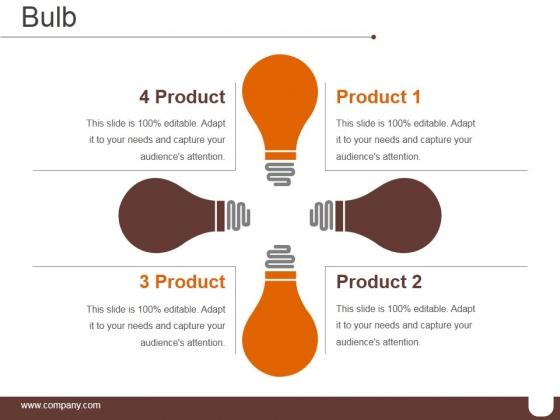 Bulb Ppt PowerPoint Presentation Tips