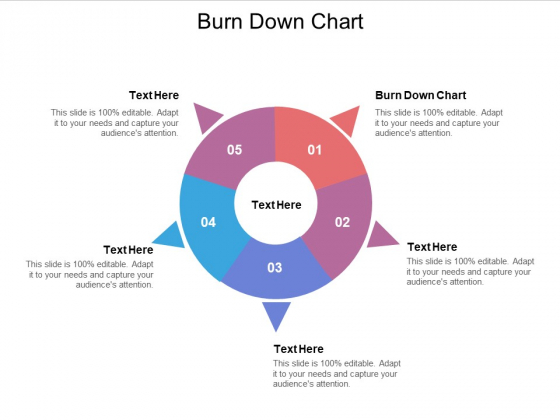Burn Down Chart Ppt PowerPoint Presentation Slides Influencers Cpb Pdf