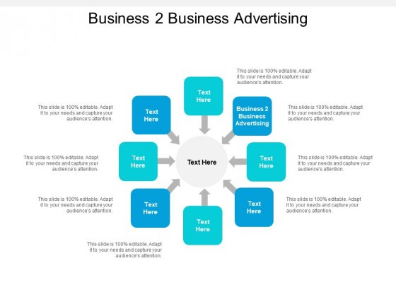 Business 2 Business Advertising Ppt PowerPoint Presentation Gallery Aids Cpb
