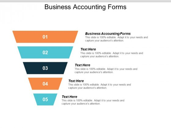 Business Accounting Forms Ppt PowerPoint Presentation Styles Mockup Cpb