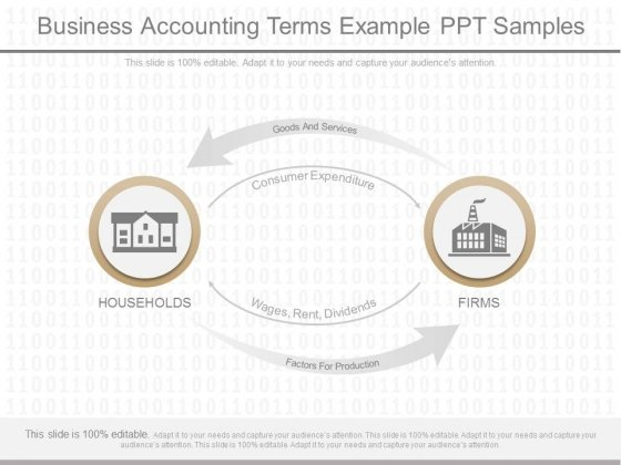 Business Accounting Terms Example Ppt Samples