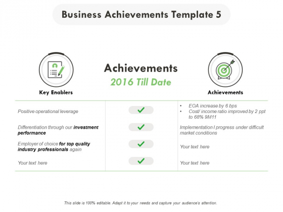 Business Achievements Investment Ppt PowerPoint Presentation Layouts Graphics Tutorials