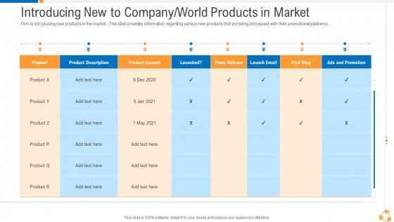 Business Advancement Internal Growth Introducing New To Company World Products In Market Designs PDF