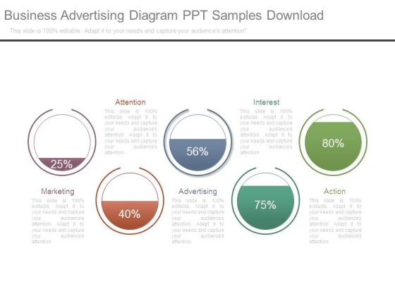 Business Advertising Diagram Ppt Samples Download