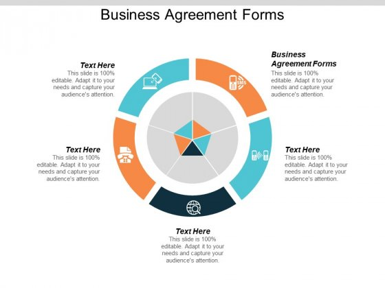 Business Agreement Forms Ppt PowerPoint Presentation Infographic Template Guidelines Cpb