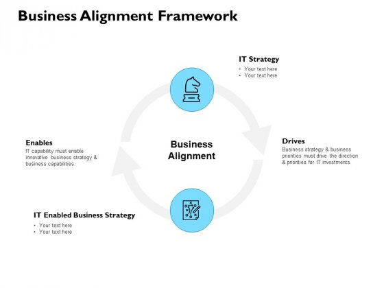 Business Alignment Framework Ppt PowerPoint Presentation Outline Visuals
