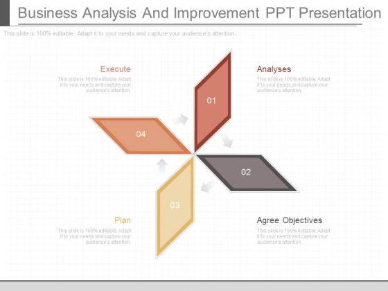 Business Analysis And Improvement Ppt Presentation