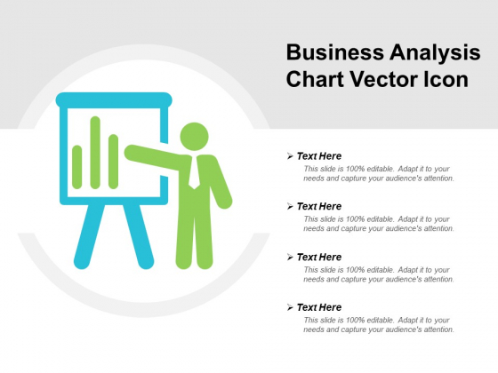 Business Analysis Chart Vector Icon Ppt PowerPoint Presentation Professional Display