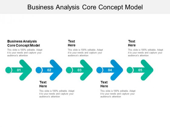 Business Analysis Core Concept Model Ppt PowerPoint Presentation Pictures Graphics Design Cpb
