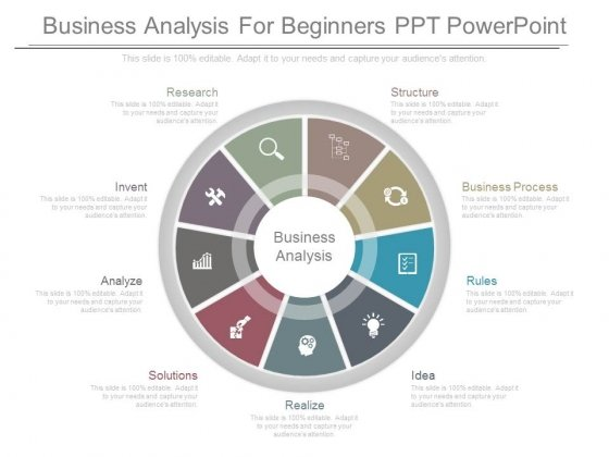 Business Analysis For Beginners Ppt Powerpoint