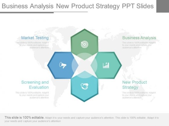 business analysis new product strategy ppt slides powerpoint templates