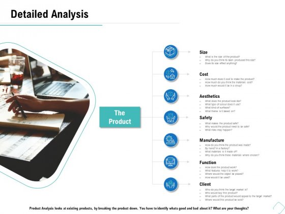 Business Analysis Of New Products Detailed Analysis Manufacture Ppt Professional Layout PDF