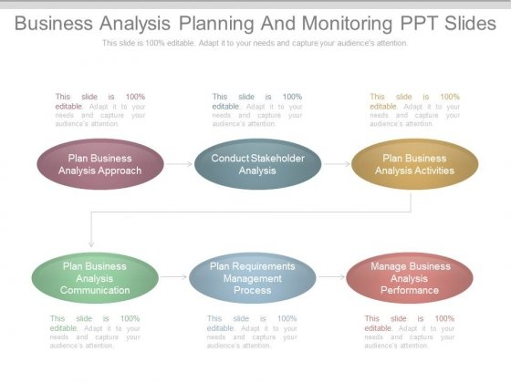 Business Analysis Planning And Monitoring Ppt Slides