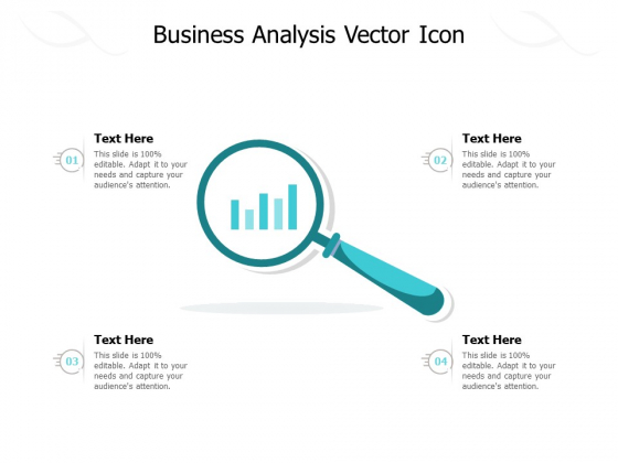 Business Analysis Vector Icon Ppt PowerPoint Presentation Pictures Layout Ideas