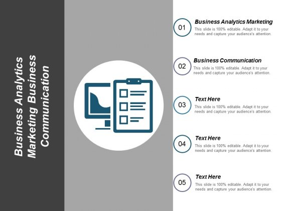Business Analytics Marketing Business Communication Ppt PowerPoint Presentation Summary