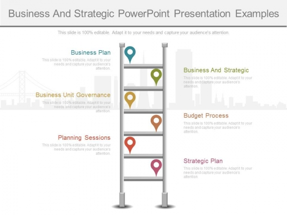 Business And Strategic Powerpoint Presentation Examples