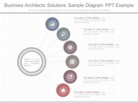 Business Architects Solutions Sample Diagram Ppt Example
