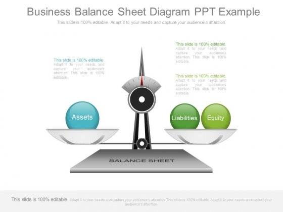 Business Balance Sheet Diagram Ppt Example