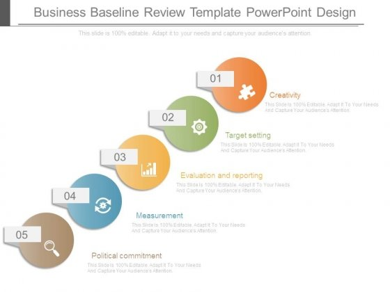 Business Baseline Review Template Powerpoint Design  Powerpoint