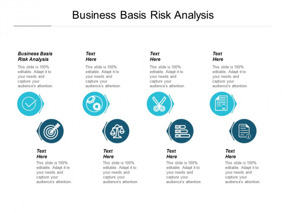 Business Basis Risk Analysis Ppt PowerPoint Presentation Infographic Template Summary Cpb