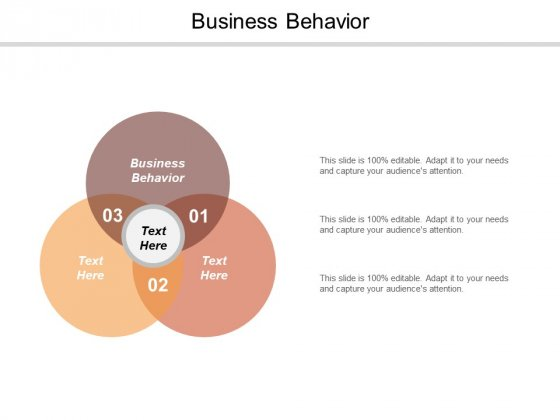 Business Behavior Ppt PowerPoint Presentation Outline Infographics Cpb
