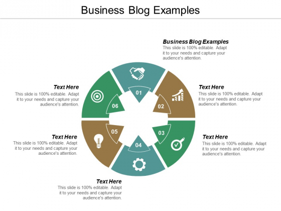 Business Blog Examples Ppt PowerPoint Presentation Model Show