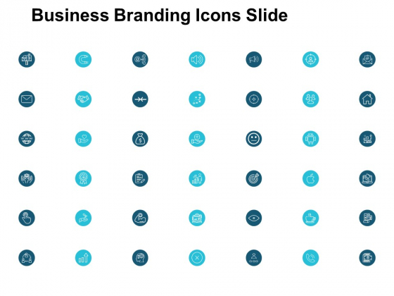 Business Branding Icons Slide Marketing Ppt PowerPoint Presentation Slides Display