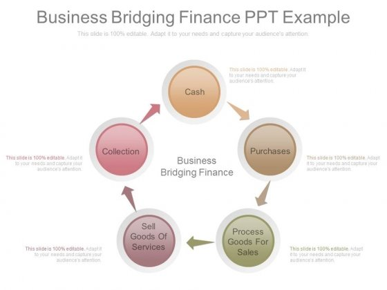 Business Bridging Finance Ppt Example