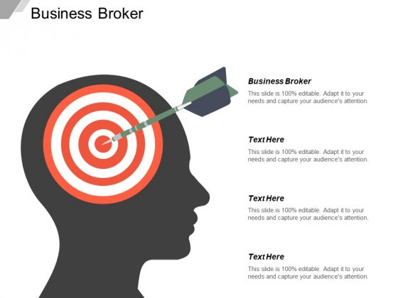 Business Broker Ppt PowerPoint Presentation Slides Clipart Images Cpb