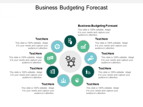 Business Budgeting Forecast Ppt PowerPoint Presentation Portfolio Slide Download Cpb