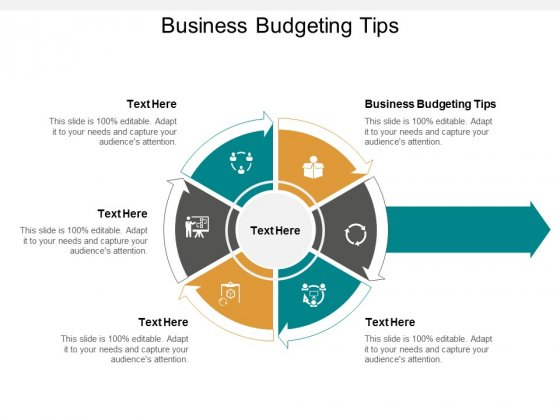Business Budgeting Tips Ppt PowerPoint Presentation Outline Objects Cpb