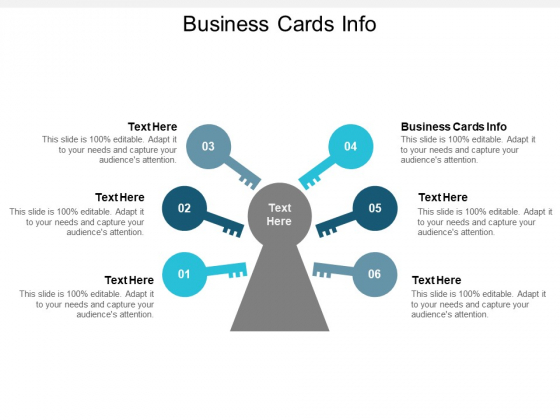 Business Cards Info Ppt PowerPoint Presentation Show Slide Portrait Cpb