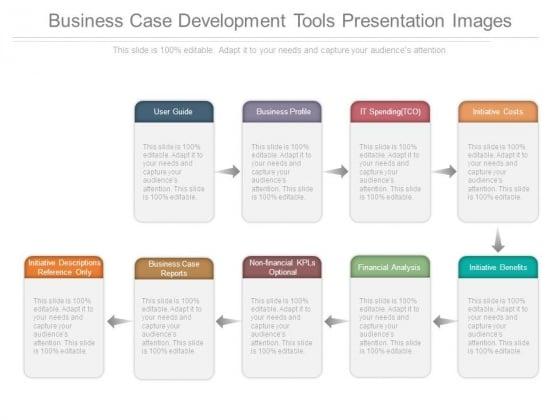 Business Case Development Tools Presentation Images