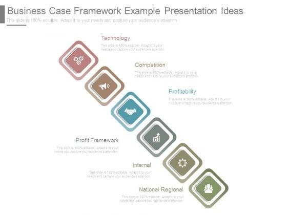 business case framework example presentation ideas powerpoint templates