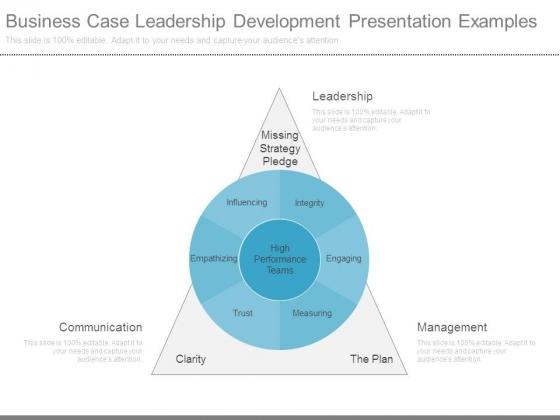 Business Case Leadership Development Presentation Examples