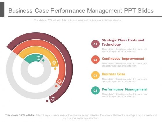 Business Case Performance Management Ppt Slides