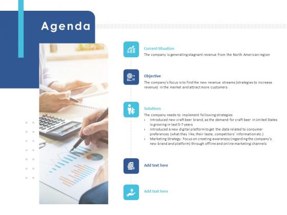Business Case Studies Stagnant Industries Agenda Ppt Gallery Design Ideas PDF