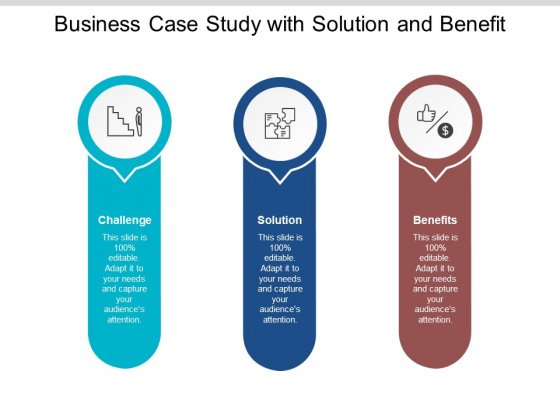 Business Case Study With Solution And Benefit Ppt PowerPoint Presentation Layouts Display