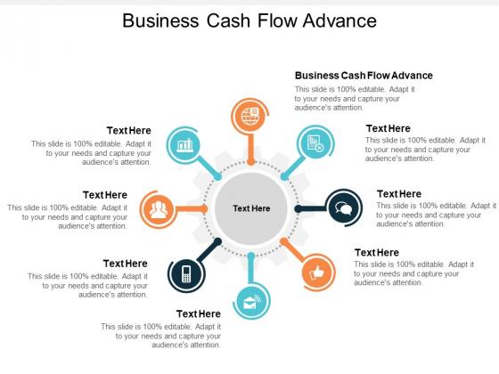 Business Cash Flow Advance Ppt PowerPoint Presentation Outline Images Cpb