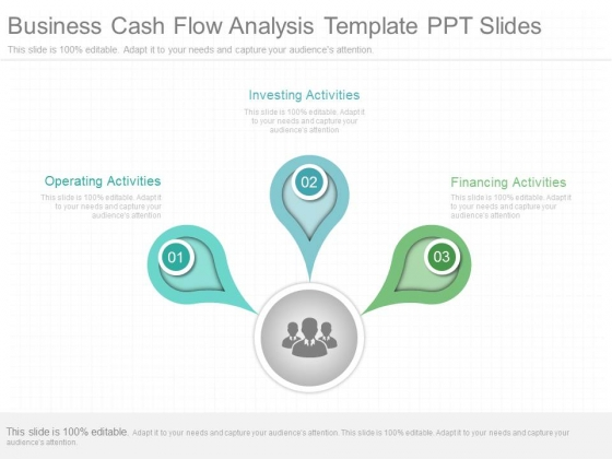 Business Cash Flow Analysis Template Ppt Slides