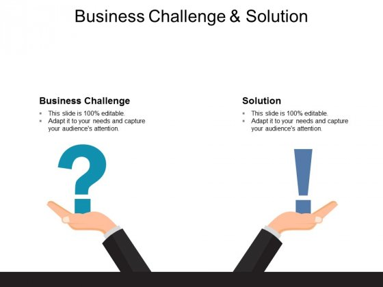 Business Challenge And Solution Ppt PowerPoint Presentation Styles Files