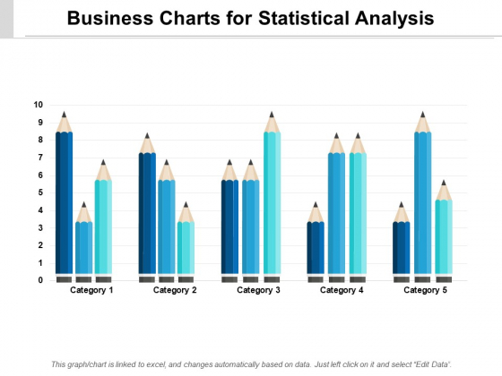 Business Charts For Statistical Analysis Ppt PowerPoint Presentation Pictures Gridlines