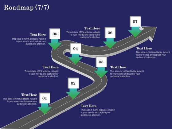 Business Coaching Roadmap Seven Process Flow Ppt PowerPoint Presentation Infographic Template Images PDF