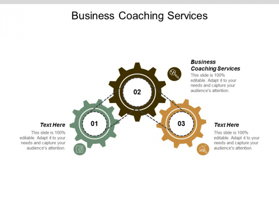 Business Coaching Services Ppt Powerpoint Presentation Inspiration Influencers Cpb