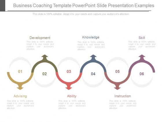 Business Coaching Template Powerpoint Slide Presentation Examples
