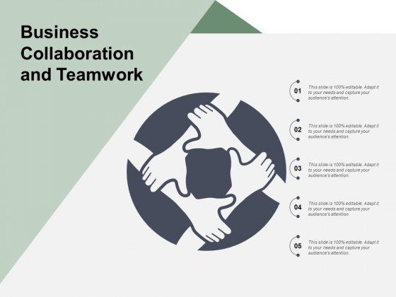 Business Collaboration And Teamwork Ppt PowerPoint Presentation Ideas Master Slide