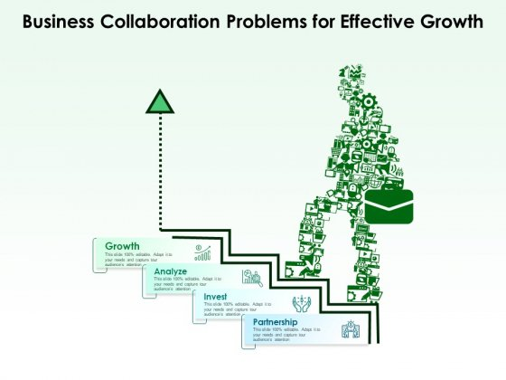 Business Collaboration Problems For Effective Growth Ppt PowerPoint Presentation Gallery Infographics PDF