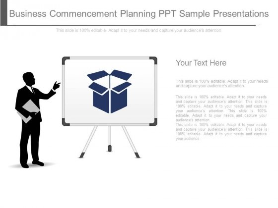 Business Commencement Planning Ppt Sample Presentations
